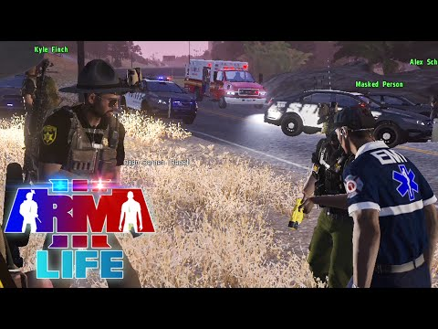 Arma 3 Life Police #2 - Armed Robbery Arrests