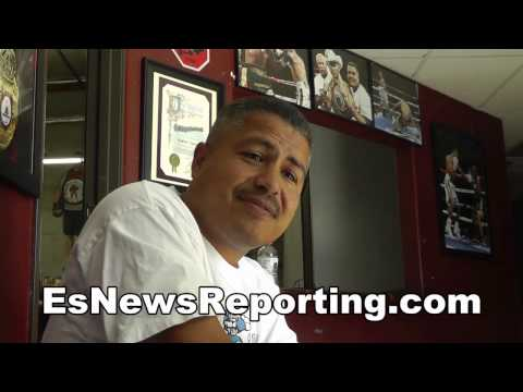 robert garcia harder to get ready for manny pacquiao than floyd mayweather