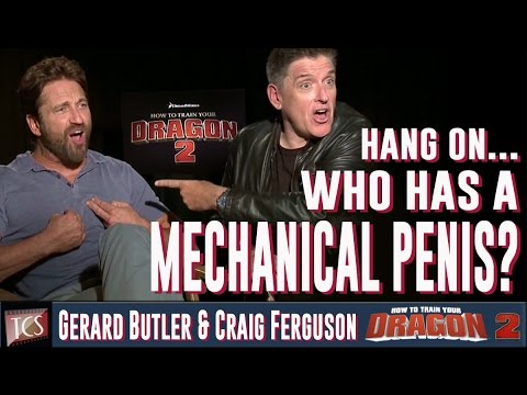 Craig Ferguson, Gerard Butler Exclusive Interview - How to Train Your Dragon 2