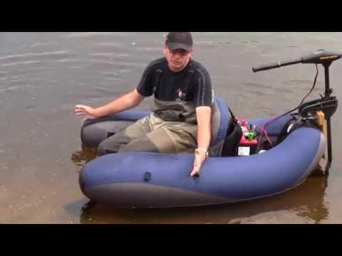 рыбалка на надувных плотиках видео