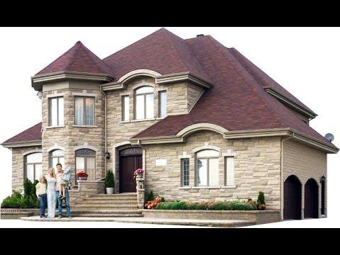 Как нарисую дом поэтапно