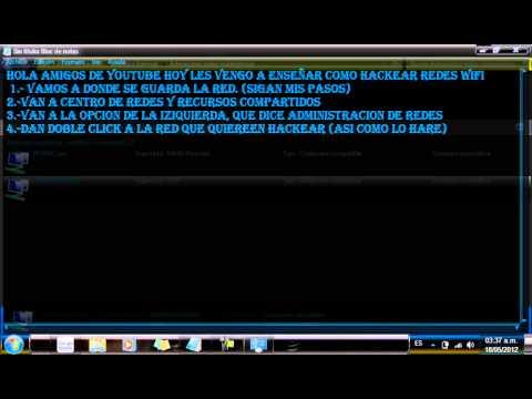 hackear redes wifi sin programas