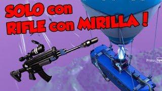 Ganando Solo Con Rifle Con Mirilla Fortnite