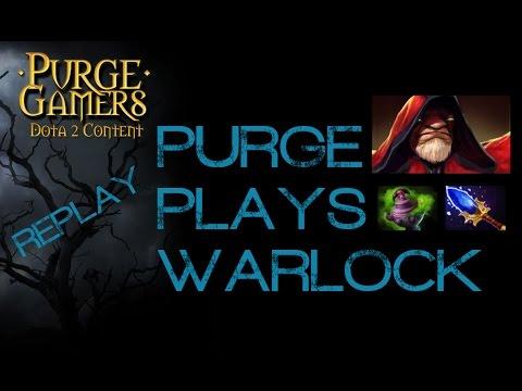 Dota 2 Purge plays Warlock