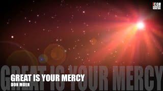 download lagu Great Is Your Mercy - Don Moen gratis