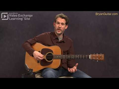 Bluegrass Guitar Lesson - The G Run