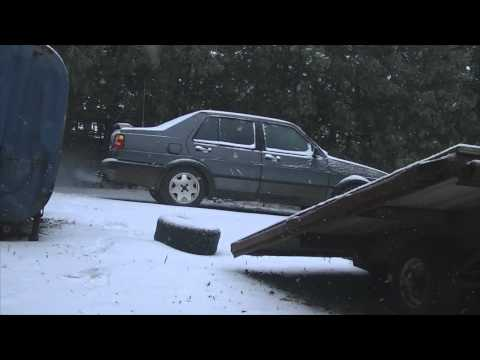 Cold Start 1991 VW Jetta 1.6L Turbo Diesel