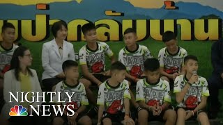 Thai Soccer Team Rescued From Cave Speaks Out | NBC Nightly News