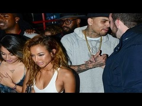 Chris Brown Enjoys A Night Out With Karrueche Tran -- Rihanna Is Officially Outta His Life