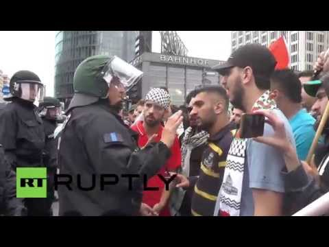 Germany: Pro-Palestine protesters invade central Berlin
