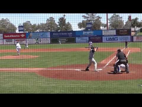 Nolan Arenado Hits A Double Off Zack Wheeler