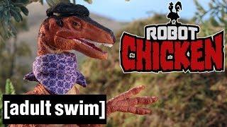 Jurassic Park Reloaded   Robot Chicken   Adult Swim De