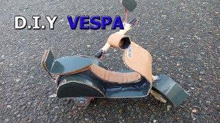 How to make a Vespa scooter - RUN AUTO