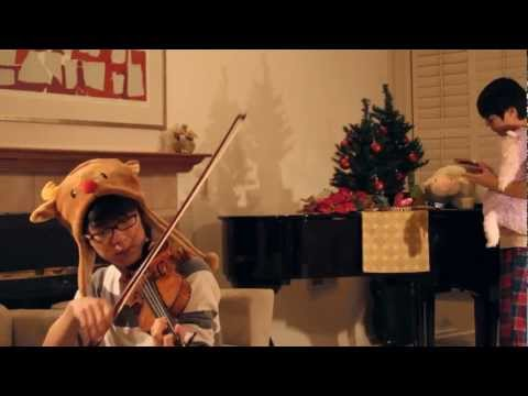 Christmas Carol Medley - Jun Sung Ahn - Violin Cover