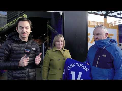 Özgür Buzbaş forma alan Everton taraftarlarını uyardı, ''Cenk Tuson değil Cenk Tosun yani''