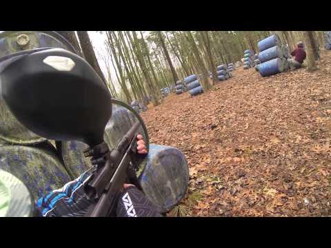 Quickshot Paintball GoPro 1/13/13 Dynasty ego 11 Empire Sniper Pump