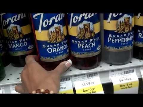 Sugar Free Torani Syrup Haul
