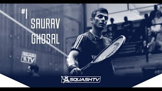 Squash: Mo.ElShorbagy v Ghosal - SF Roundup - Channel Vas Champs 2017