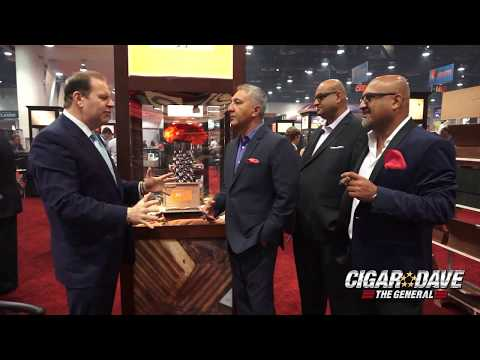 Rocky Patel Booth at IPCPR 2017 in Las Vegas, NV