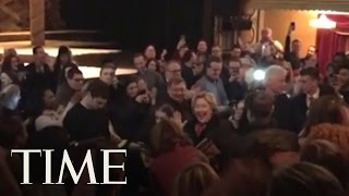 Hillary Clinton Gets A Standing Ovation At Broadway's 'The Color Purple'   TIME