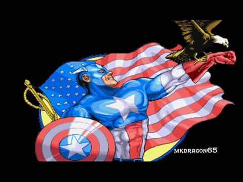 Marvel Super Heroes OST, T06 -  Captain America