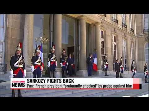 "Fmr. French president ""profoundly shocked"" by corruption probe"