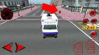 Money delivery van game | Van games | Racing games | Money games | Games | car games