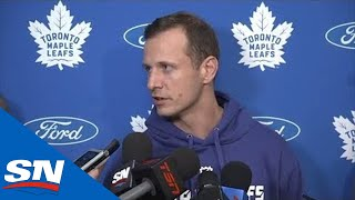 Maple Leafs Players Speak As Training Camp Begins
