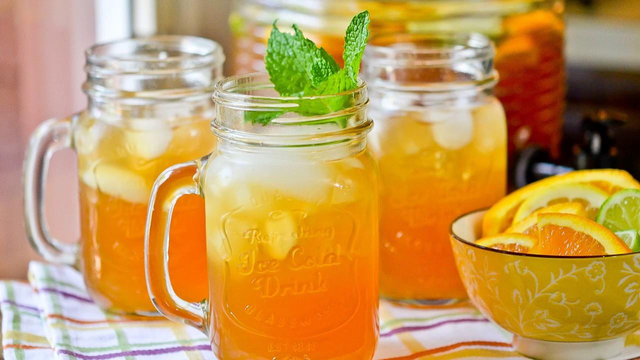 Как сделать напиток из апельсинов в домашних условиях 980