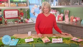 Creative Ways to Display Holiday Cards - Martha Stewart