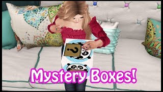 Opening Up Mystery Boxes In Second Life!