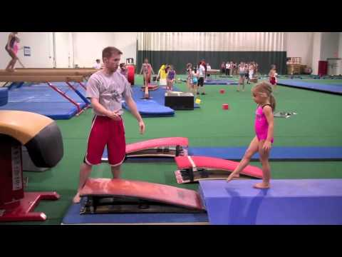 Coaching Vault at Gedderts&#039; Twistars Summer Camp 2011