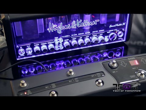 Audio Tech: Hughes & Kettner GrandMeister 36 IOS Head Unboxing & First Look