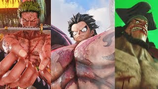 Jump Force - All One Piece Characters Combos, Supers, & Ultimate Attacks (Luffy, Zoro, Blackbeard)