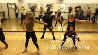 Commercial Grooves with Aleta - Pineapple Dance Studios