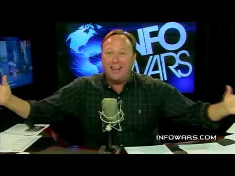 Alex Jones Rant: Invasion of the Prancer Trendies! [KONY 2012]