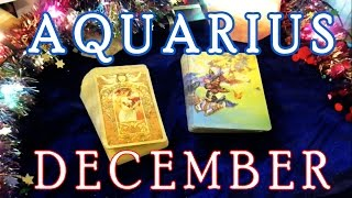 Aquarius December 2016 Psychic Tarot Reading Reading