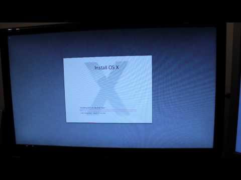 OS X Mountain Lion 10.8: Installation