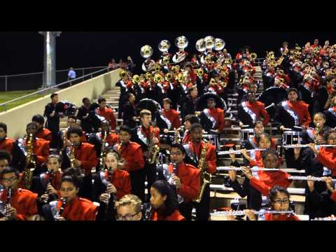 Cypress Lakes High School Spartan Band 2014 - Battle of the High School Marching Bands - KHOU