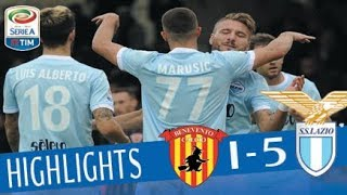 Benevento - Lazio 1-5 - Highlights - Giornata 11 - Serie A TIM 2017/18