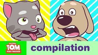 Talking Tom and Friends Minis - Episodes 33-36 Binge Compilation