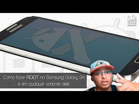 Como fazer ROOT no Samsung Galaxy S4 e S4 mini e em todas as suas variantes.