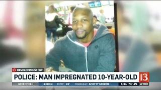 Kokomo man accused of impregnating 10-year-old
