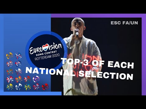 EUROVISION 2020 | My Top-3 of Each National Final (So Far) +