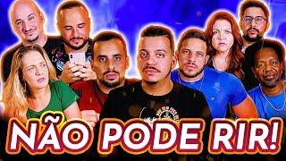 NÃO PODE RIR! com Rodrigo Marques, Moisés Loureiro, Arianna Nutt, Kedny Silva e Flávio Andrade