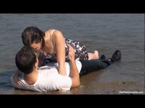Gwen takes Melanie into the water