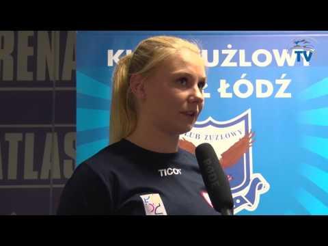 Żużel I Siatkówka - Ewelina Tobiasz Siatkarka Budowlanych Łódź