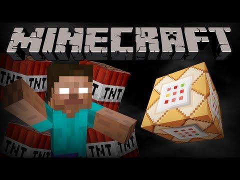 If Herobrine used Command Blocks - Minecraft