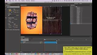Adobe Edge software video tutorial build a jquery photo gallery