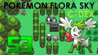 Pokémon Flora Sky C-Dex Walkthrough Part 53 [Sky Shaymin and Celebi]